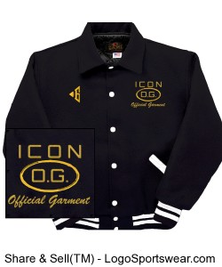 Icon All Wool Tour Jacket Design Zoom